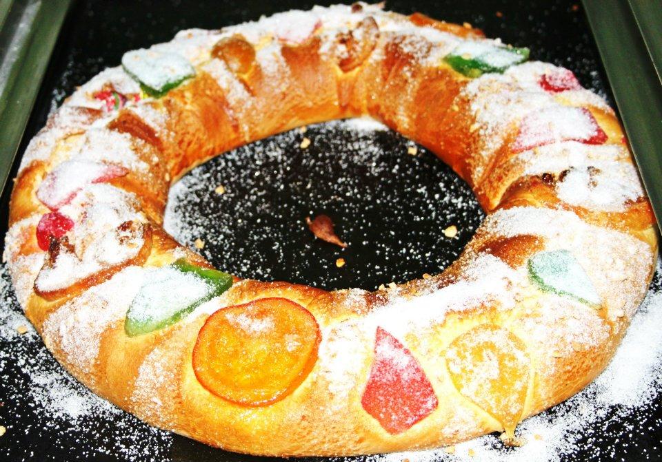 Repostería Navideña Confitería Pastelería Panadería Consuegra Murcia Roscón de reyes
