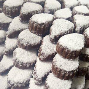 polvorones de chocolate artesanales en Murcia
